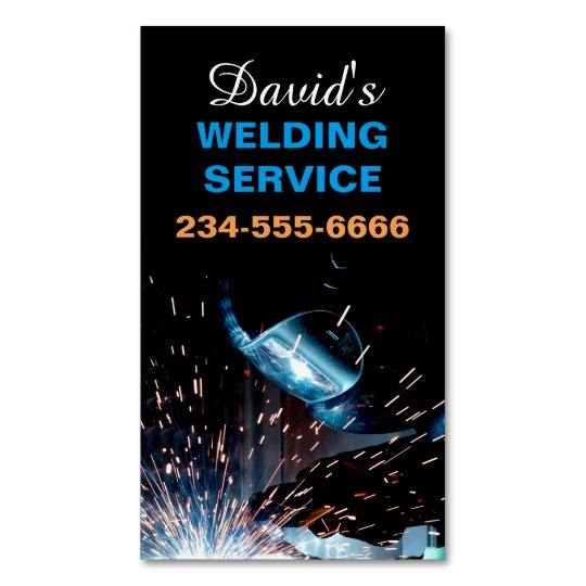 Modern Welding Service and Metal Fabrication Photo Magnetic