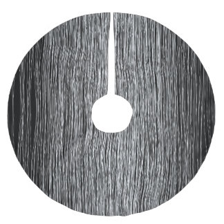 modern white penline art.jpg brushed polyester tree skirt