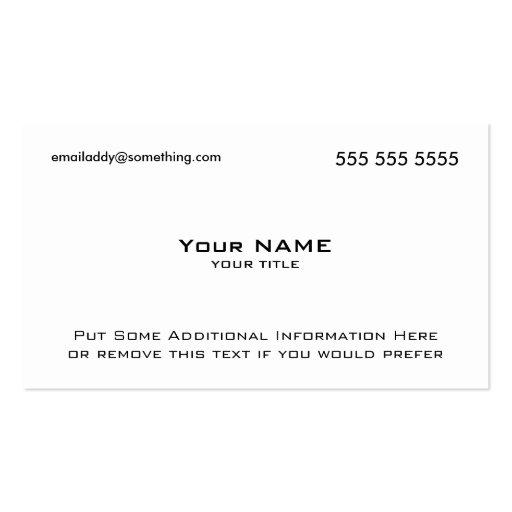 Modern White QR Code Business Card Templates