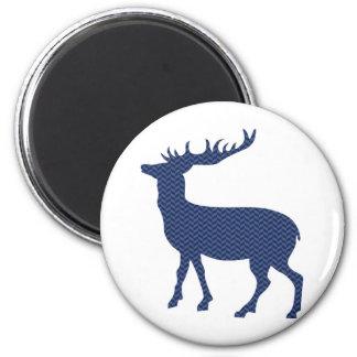Modern wild deer magnet
