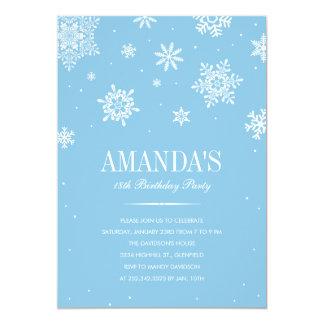 Modern Winter Wonderland Invitations