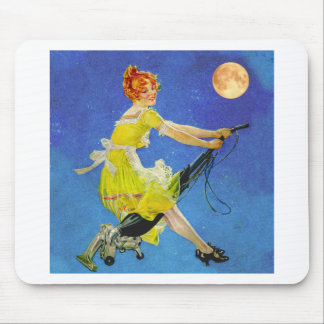 Modern WItch Mouse Pad