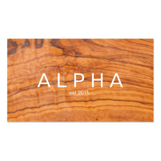 Modern Wood Grain Background Design Pack Of Standard Business Cards