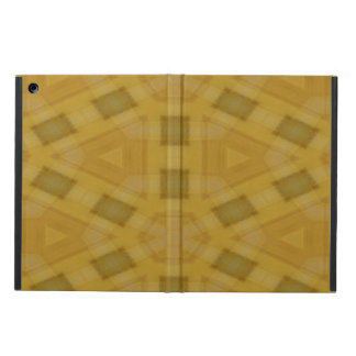 Modern wood pattern cover for iPad air