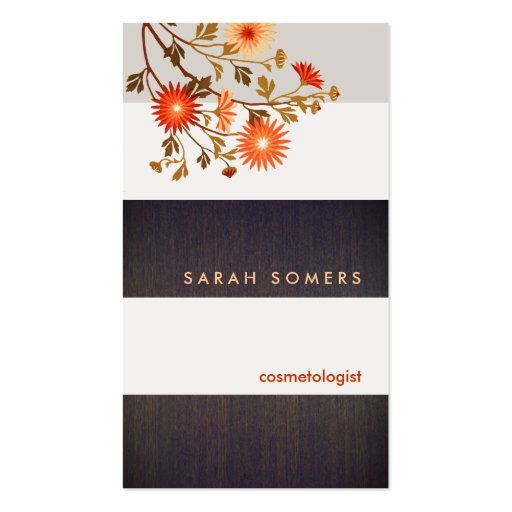 cosmetology business cards