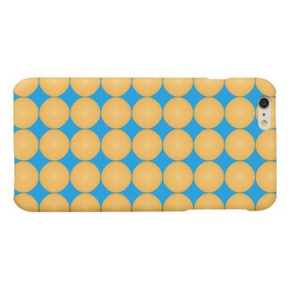 Modern Yellow Polka Dot iPhone 6 Plus Case