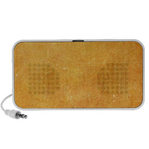 Modern Yellow Style iPhone Speakers