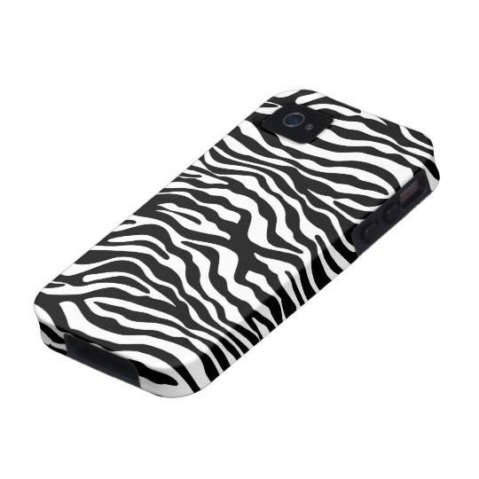 Modern Zebra iPhone 4/4S Case