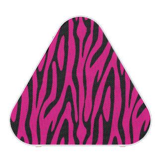 Modern Zebra Skin Pattern Speaker