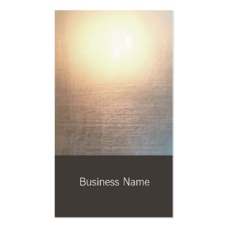 Modern Zen Glow Yoga and Healing Arts Pack Of Standard Business Cards