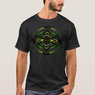 Modernism Neon Green Urban Futurist Design Tshirt