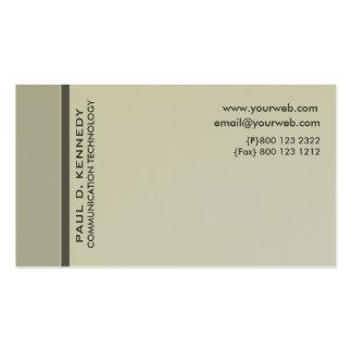 Modernist Contemporary Trendy Designs Business Cards