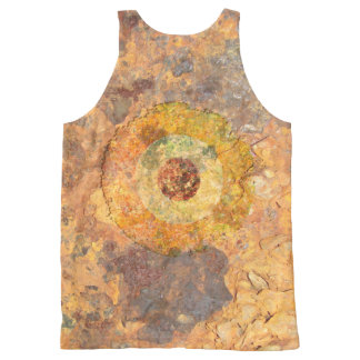 Modernist Grunge All-Over Print Tank Top