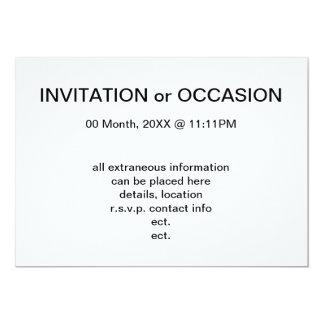 modernistas 13 cm x 18 cm invitation card