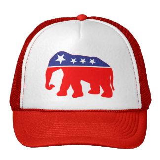 Modernized GOP Elephant Mesh Hats