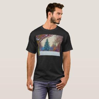 Modest Autumn Artistic T-Shirt