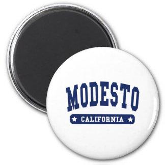Modesto California College Style tee shirts Magnet