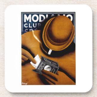 Modiano Cigarette Ad Coaster