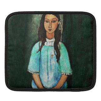 Modigliani Alice Vintage Fine Art Painting iPad Sleeves