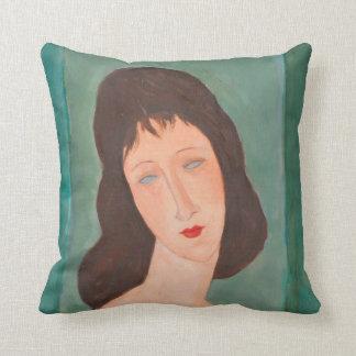 Modigliani Amedeo Portrait Cushion