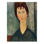 Modigliani Amedeo Portrait Post Card