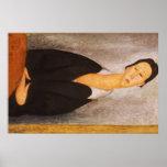 Modigliani Amedeo Portrait Print
