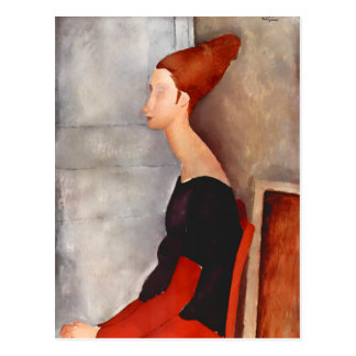 Modigliani Jeanne Dark 2015 Calendar Postcard