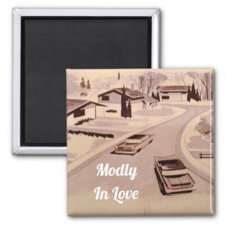 Modly In Love Midcentury Modern Architecture Magnet