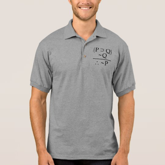 Modus Tollens Polo Shirt