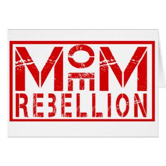 Moe Moe Rebellion Greeting Card