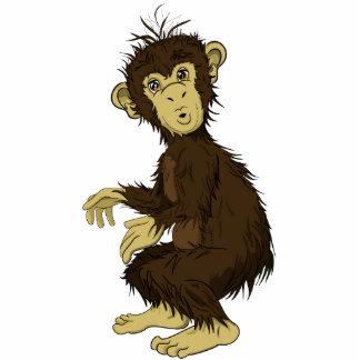 Moe Monkey Standing Photo Sculpture