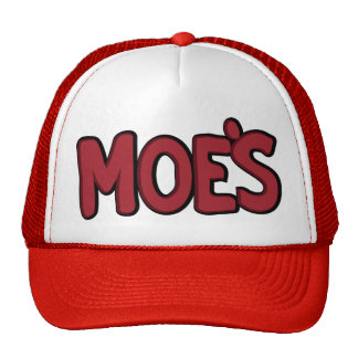 Moe s Tavern Mesh Hats