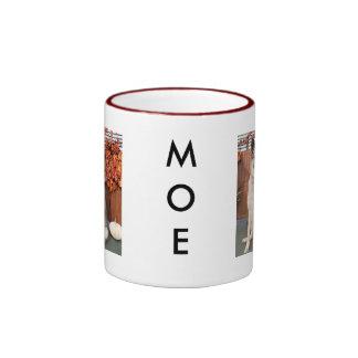 Moe - Shepherd Hybrid Photo-1 Ringer Mug