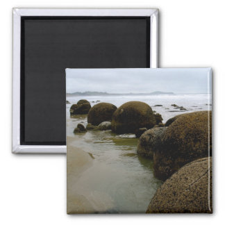 Moeraki Boulders, New Zealand Magnet