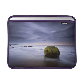 Moeraki Boulders Sunrise Seascape MacBook Air Sleeves