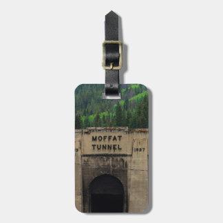 Moffat Tunnel Pine Trees Colorado Bag Tag
