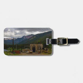 Moffat Tunnel Pine Trees Mountain Colorado Luggage Tag