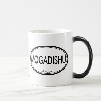 Mogadishu, Somalia Magic Mug