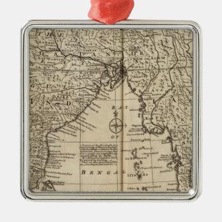 Mogul Empire, India Christmas Ornament