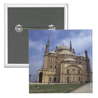Mohammed Ali Mosque at the Citadel of Cairo, 2 15 Cm Square Badge