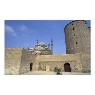 Mohammed Ali Mosque at the Citadel of Cairo, Photo Print