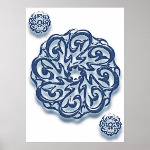 Mohammed (pbuh) calligraphy... print