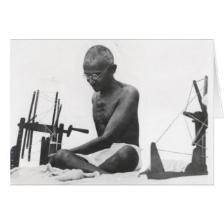Mohandas Karamchand  Gandhi Greeting Card