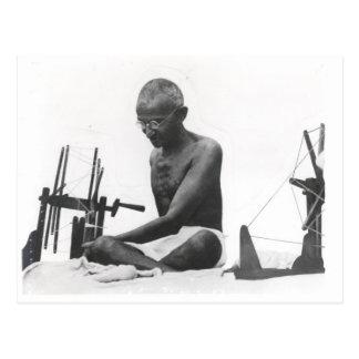 Mohandas Karamchand  Gandhi Postcard