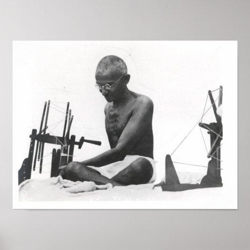 Mohandas Karamchand  Gandhi Print