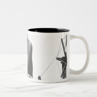 Mohandas Karamchand  Gandhi Two-Tone Coffee Mug