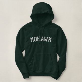 Mohawk Indian tribe Embroidered Hoodie