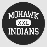 Mohawk - Indians - High School - Marcola Oregon Stickers