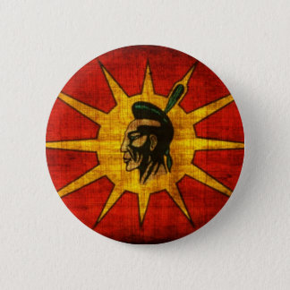 Mohawk Nation 6 Cm Round Badge