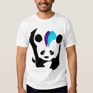 Mohawk Panda T Shirts